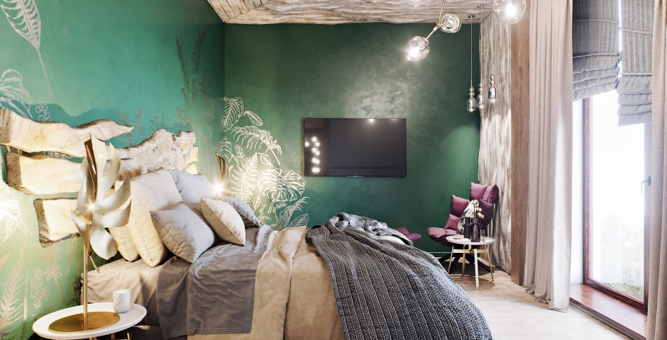 Спальня хозяйская - 2 этаж