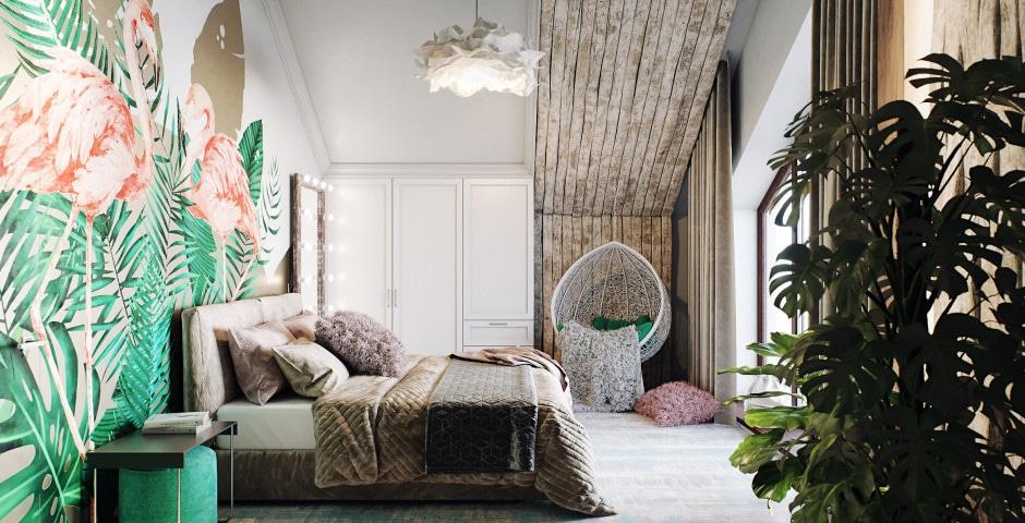 Спальня девочки - 2 этаж