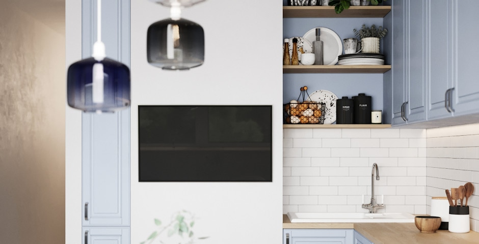 Кухня - холл